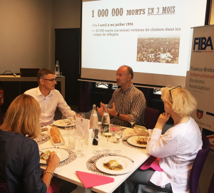 July's Business Lunch at the LYINC with Guillaume Ancel