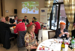 The FIBA Christmas lunch